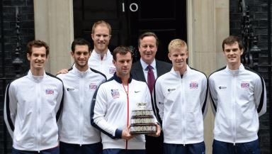 Davis Cup: Team meet Prime Minister David Cameron.