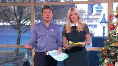 This Morning presenters Ben Shephard and Holly Willoughby.