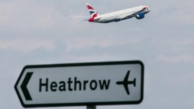 Heathrow: Scottish Government supports third runway (file pic).