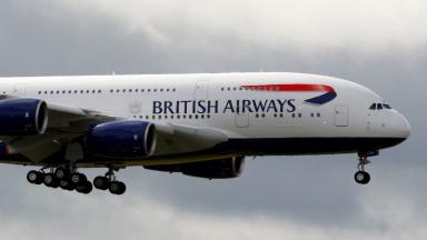 A British Airways plane