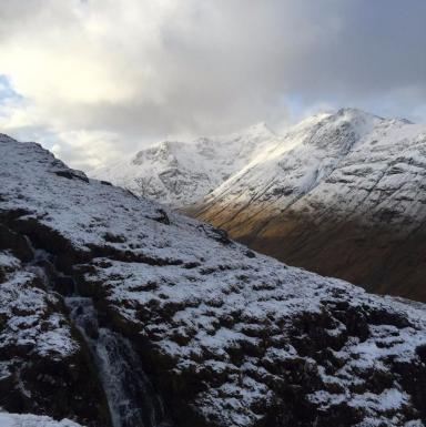 Glencoe: A 57-year-old climber died.