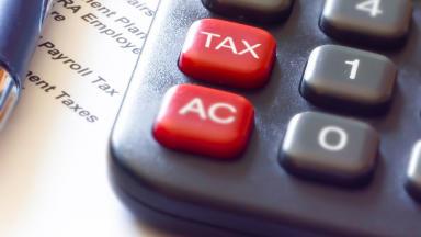 Tax: Maximum rise capped at 3% (file pic).