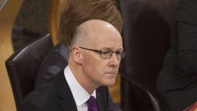 Poll: John Swinney described the poll as 'encouraging'.