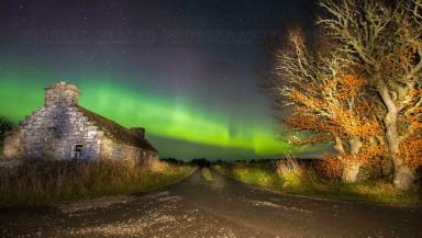 Aurora: Scots capture dancing lights from Oban to Elgin.
