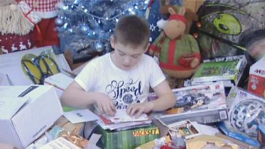 Aron Anderson: The schoolboy received more than 2000 Christmas letters.