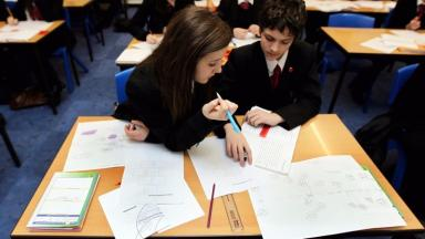 Gap: The Scottish Government want to narrow the gap between the richest and poorest pupils.