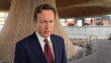 'Massive powers': Prime minister David Cameron.
