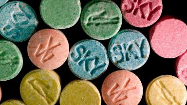 Drug issue: MDMA is still the drug of choice for many.