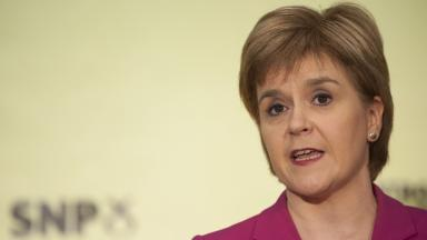 Politics: Sturgeon will address delegates on Saturday.