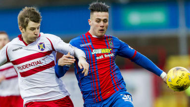 Miles Storey enjoyed a loan spell at Inverness before joining Aberdeen.