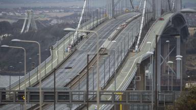 Traffic free: Bridge undergoing repairs