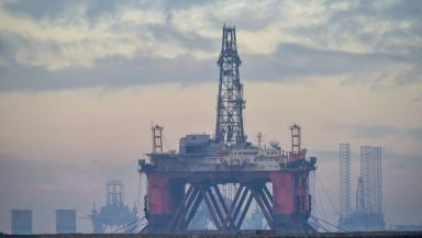 North Sea: Good news for Scotland's oil industry (file pic).