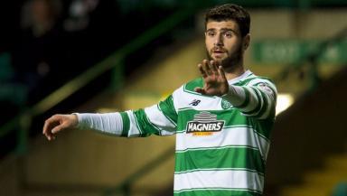 Loan: Nadir Ciftci has struggled for first-team football at Celtic.