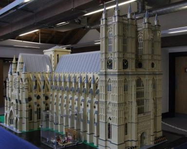 Westminster Abbey: Warren's Lego niche is in architecture.
