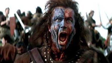 William Wallace: 42% declared him 'the bravest Scot ever'.