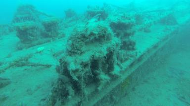 Wrecks found: Divers discover unusual vessels.