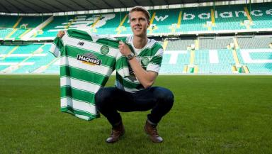 Kristoffer Ajer agreed a pre-contract deal with Celtic early in 2016
