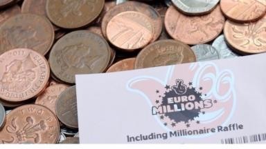 In the money: Scots have had their fair share of success on the lottery.