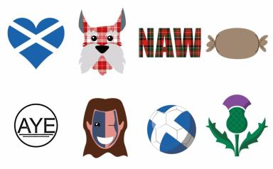 Scotmoji: A keyboard app with 100 emojis for Scotland will be released soon.