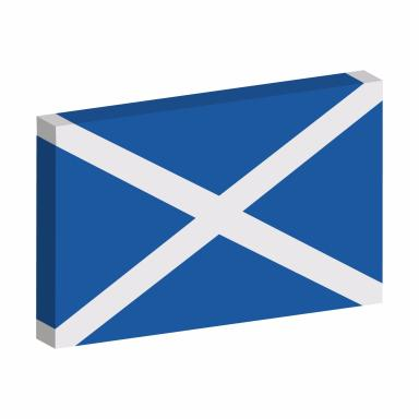 Kayleigh's emoji Saltire, set for launch in March.