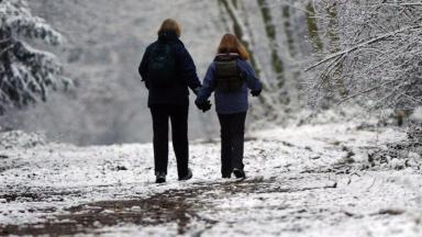 Chilly: Temperatures to plunge in Scotland this weekend.