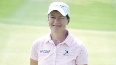 Golf accolade: Catriona Matthew will be awarded a lifetime achievement award in Edinburgh.