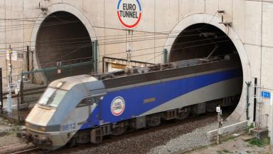 Channel Tunnel: UK is still an island despite the link to France.
