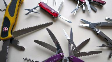Penknives: Police spoke to girl's parents after incident (file pic).