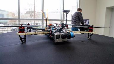 Drone: An aerial security threat?