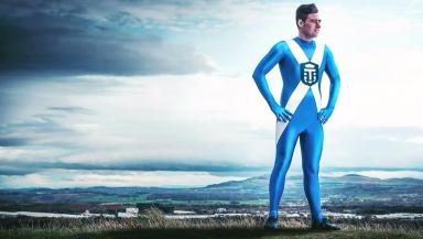 Tartan explorer: Josh Quigley hopes to become a global ambassador for mental health.