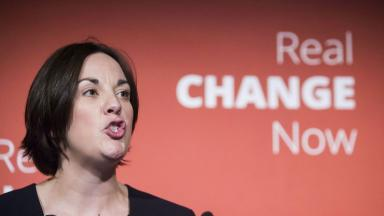 Kezia Dugdale: Scottish Labour only announced the policy a short while ago.