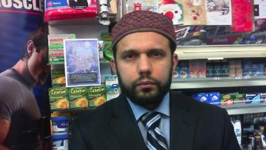 Asad Shah: Shopkeeper died after being found injured outside his store.