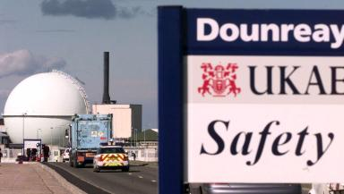 Dounreay: Union members to vote on action (file pic).