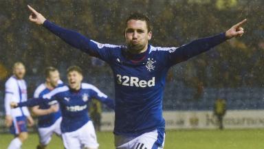 Nicky Clark has left Rangers.