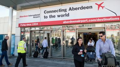 Aberdeen Airport: Charged doubled from £1 to £2 in April (file pic).