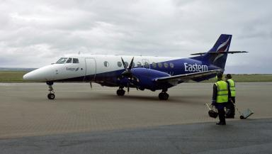 Eastern Airways: Said route no longer made economic sense (file pic).