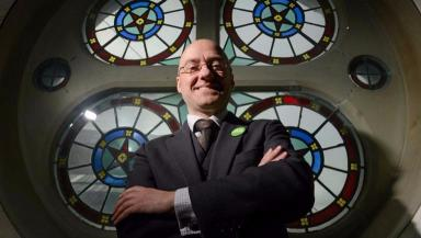 Harvie: Believes Greens can return most MSPs ever.