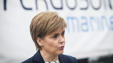 Nicola Sturgeon: The First Minister said she is taking 'immediate steps' to tackle homelessness.