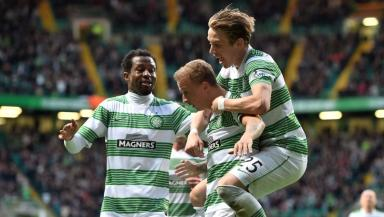 Leigh Griffiths celebration
