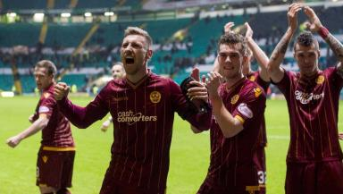 Motherwell beat Celtic 2-1
