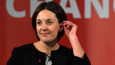Kezia Dugdale: The Labour leader has said she will not resign whatever the result.