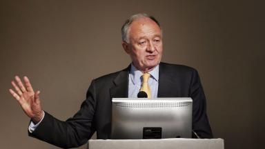 Livingstone: A key figure on the Labour left.