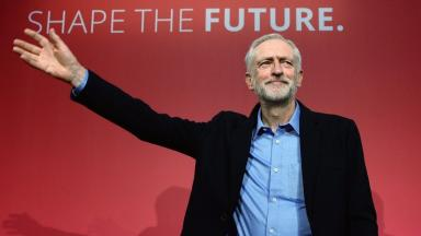 Jeremy Corbyn: The Labour leader said the SNP have shown they can't stop the Tories.