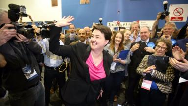 Ruth Davidson: The Conservative leader has previously starred in the show's spin off series.