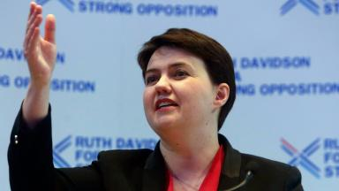 Ruth Davidson will appear in a charity version of Bake Off.