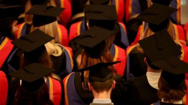 Graduates: 95.2% of Scottish graduates find work or continue education.