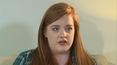 Depression: Chloe Allan gave advice to other young people suffering from mental health issues.