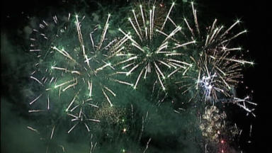 Fireworks: Displays across the country have been cancelled.