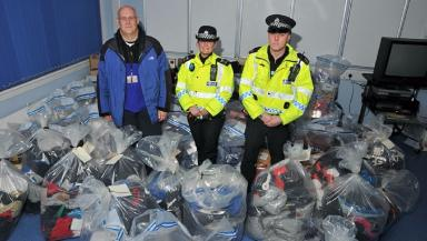 More than £30m worth of fake goods were seized.