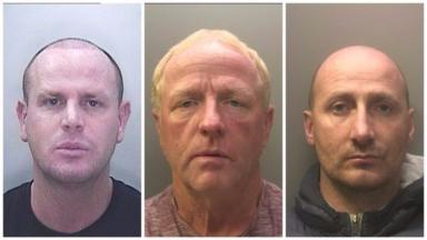 Connors family: Trio jailed for 27 years in total.